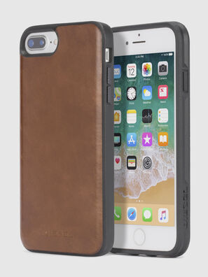 BROWN LEATHER IPHONE X CASE, Brown - Cases