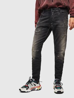Krooley JoggJeans 084AE, Black/Dark grey - Jeans