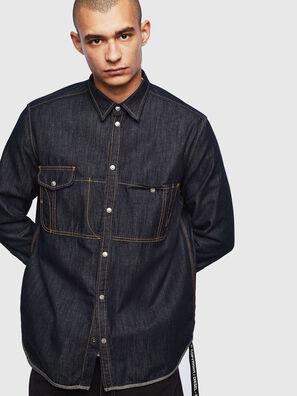 D-MILLY, Dark Blue - Denim Shirts