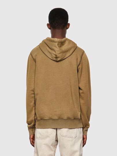 Diesel - S-GIRK-HOOD-MOHI-B1, Light Brown - Sweaters - Image 2