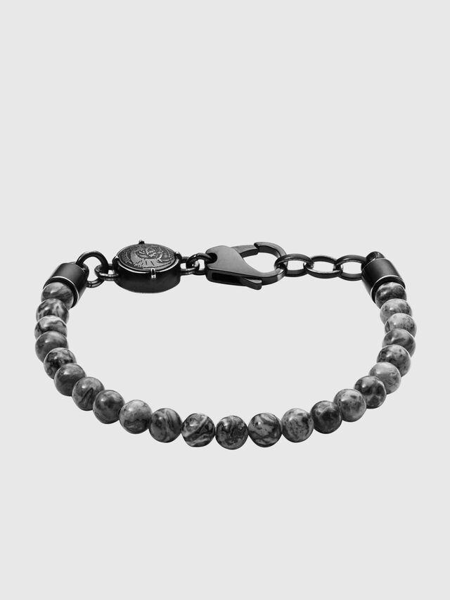 Diesel - DX1015, Dark grey - Bracelets - Image 1