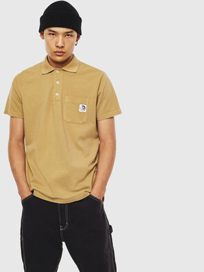 T-POLO-WORKY, Light Brown - Polos