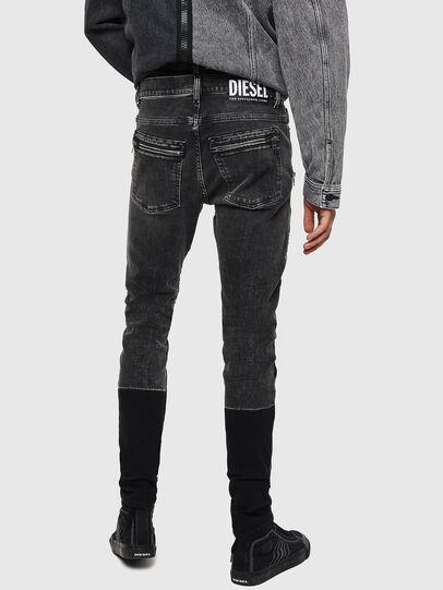 Diesel - D-Amny 0890T, Black/Dark grey - Jeans - Image 2