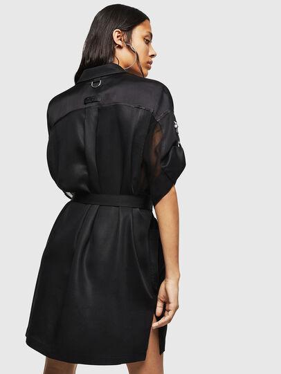 Diesel - D-TIEP, Black - Dresses - Image 2