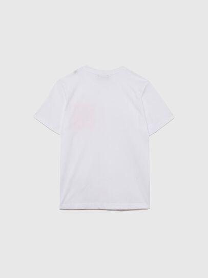 Diesel - TLARS, White/Orange - T-shirts and Tops - Image 2