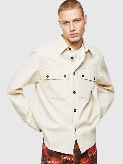 Diesel - S-JESSY, White - Shirts - Image 1