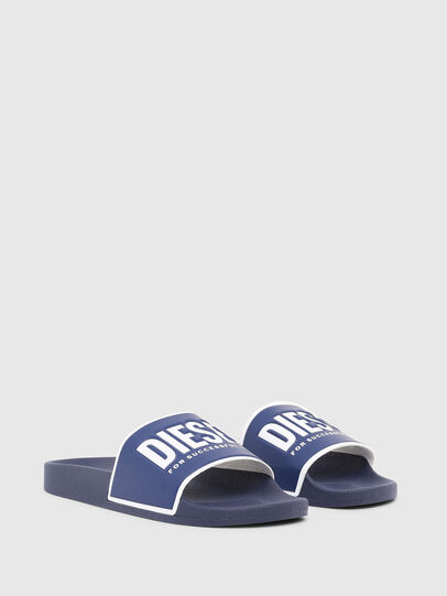 Diesel - SA-VALLA, Blue - Slippers - Image 2
