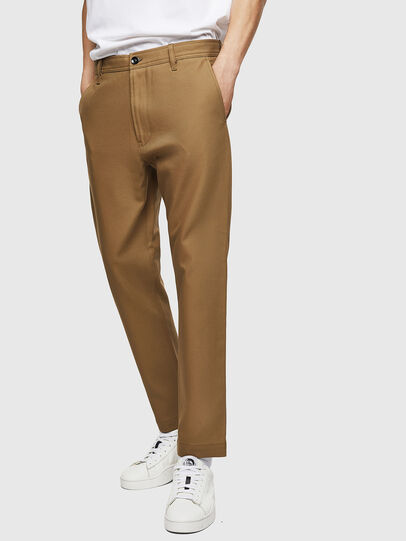 Diesel - P-JARED-NL, Light Brown - Pants - Image 1