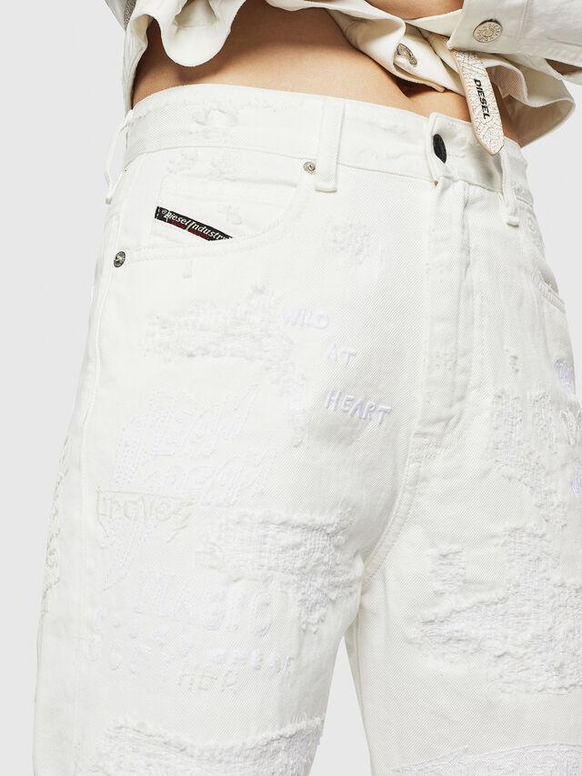 Diesel - D-Eiselle 069IJ, White - Jeans - Image 3