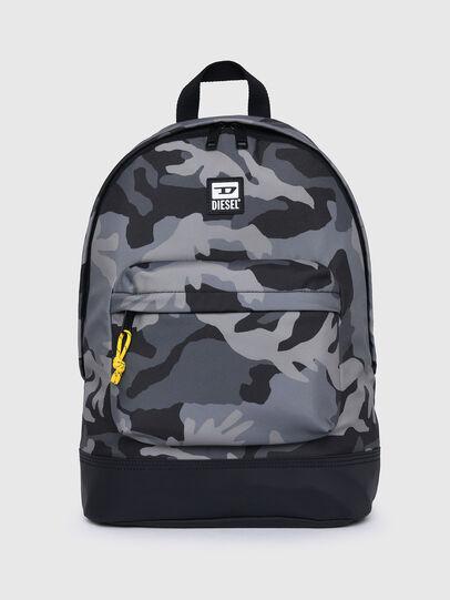Diesel - VIOLANO, Grey/Black - Backpacks - Image 1