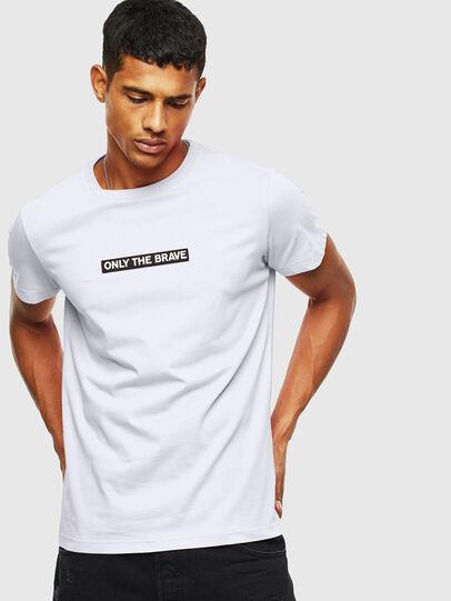 Diesel - T-DIEGO-T16, White - T-Shirts - Image 1