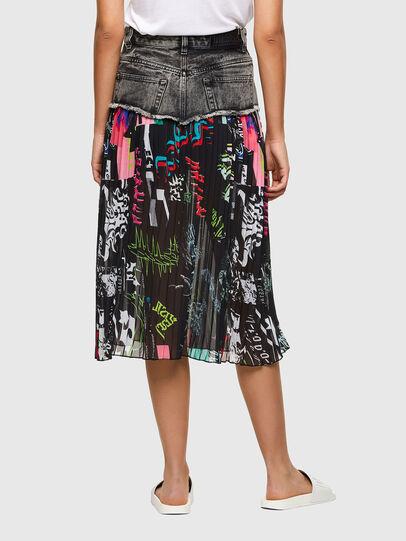 Diesel - O-ZOWIE-PRINT, Black - Skirts - Image 2