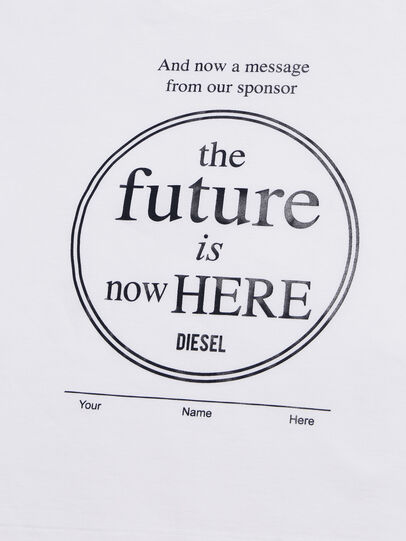 Diesel - TARTIB-R, White - T-shirts and Tops - Image 3