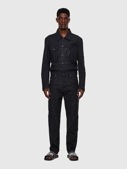 Diesel - D-VIDER JoggJeans® 0DDAX, Black/Dark grey - Jeans - Image 5