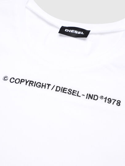 Diesel - TFELIX, White - T-shirts and Tops - Image 3