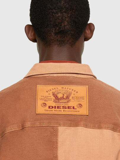 Diesel - D-CORUS-SP JOGGJEANS, Brown - Denim Shirts - Image 4