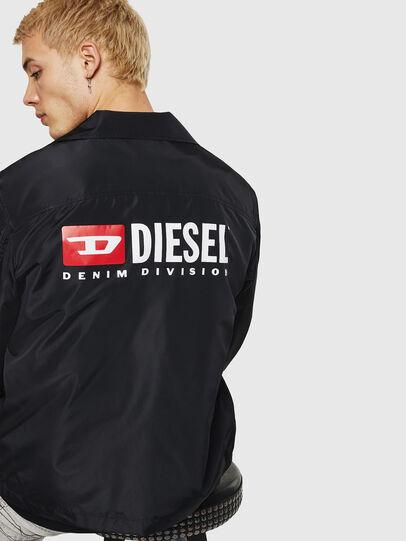 Diesel - J-ROMAN-P, Black - Jackets - Image 2