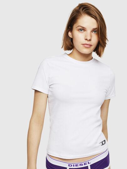 Diesel - UFTEE-ROUNDFEM, White - T-Shirts - Image 1