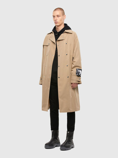 Diesel - J-JAY, Light Brown - Jackets - Image 8
