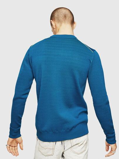 Diesel - K-LUISS, Blue - Knitwear - Image 2