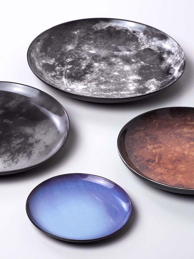 Living 10829 COSMIC DINER, Grey - Plates - Image 2