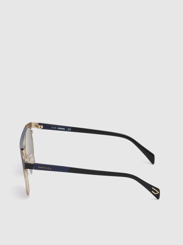 Diesel - DL0218, Black/Blue - Eyewear - Image 3