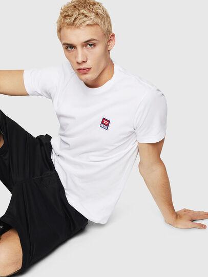 Diesel - T-DIEGO-DIV, White - T-Shirts - Image 7