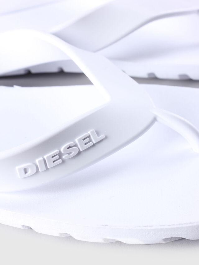 Diesel SPLISH, White - Slippers - Image 4