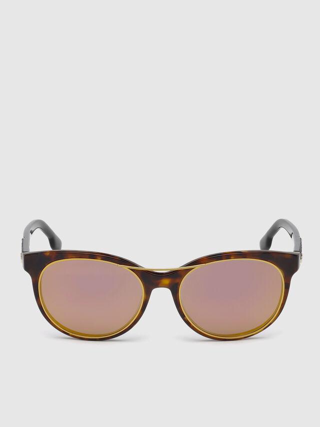 Diesel DL0213, Brown - Eyewear - Image 1