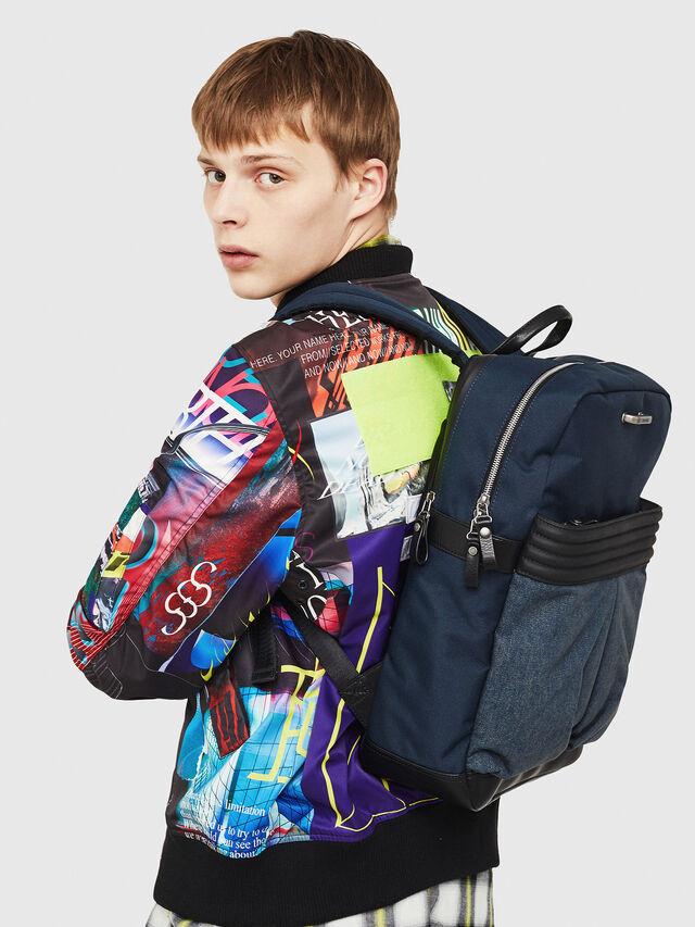 Diesel M-PROOF BACK, Blue Jeans - Backpacks - Image 6
