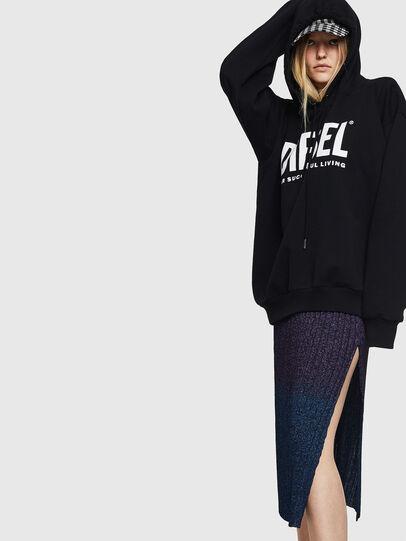 Diesel - M-ELY, Dark Blue - Skirts - Image 5