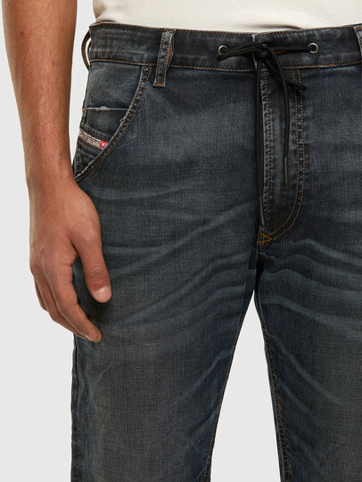 Diesel - KROOLEY JoggJeans® 069NS, Dark Blue - Jeans - Image 3