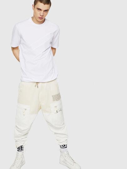 Diesel - T-ALEKSEY, White - T-Shirts - Image 5