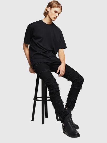 Diesel - TEORIALE-X3, Black - T-Shirts - Image 6