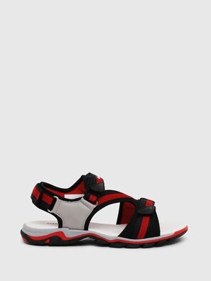 SA 07 STRIPE YO, Grey/Red - Footwear