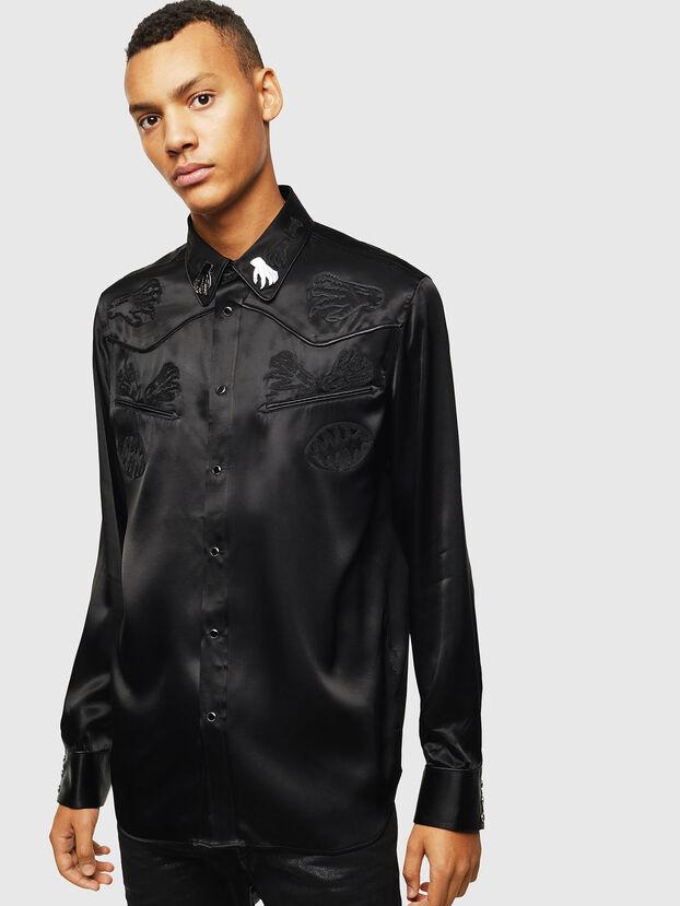 S-VEL, Black - Shirts