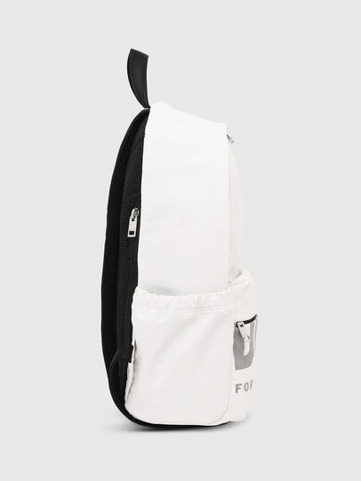 Diesel - F-BOLD BACK III, White - Backpacks - Image 3