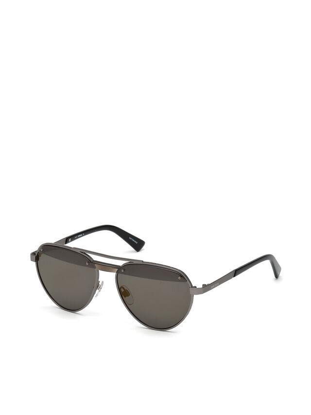 Diesel DL0261, Black/Grey - Eyewear - Image 2