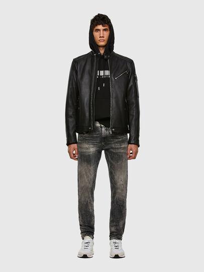 Diesel - L-CASE-KA, Black - Leather jackets - Image 6