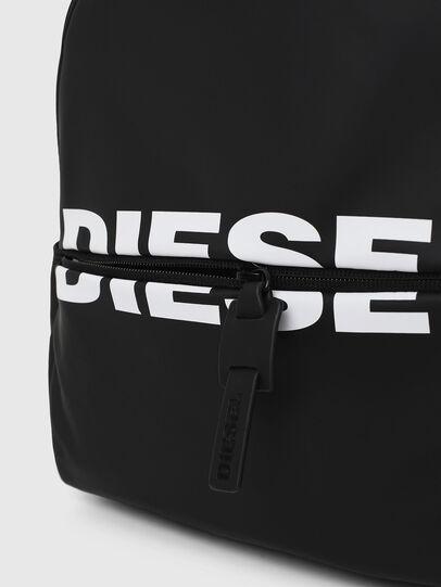 Diesel - F-BOLD BACK FL, Bright Black - Backpacks - Image 4