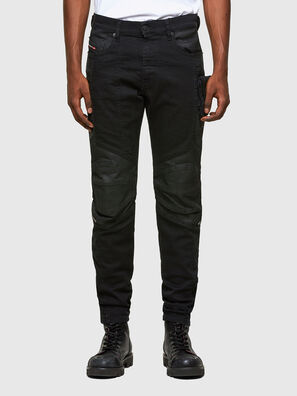 D-Strukt 069TH, Black/Dark grey - Jeans