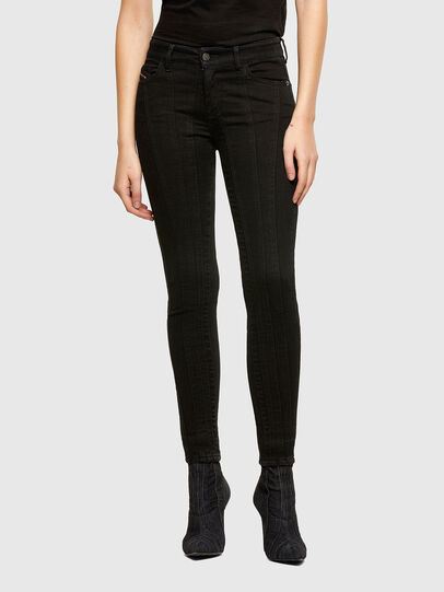 Diesel - Slandy 069VP, Black/Dark grey - Jeans - Image 1