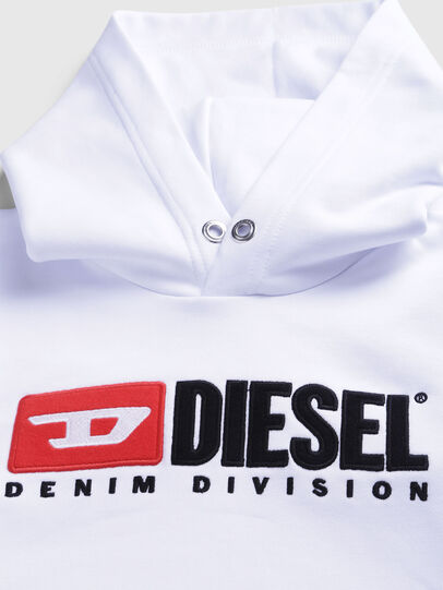 Diesel - SDIVISION OVER, White - Sweaters - Image 3