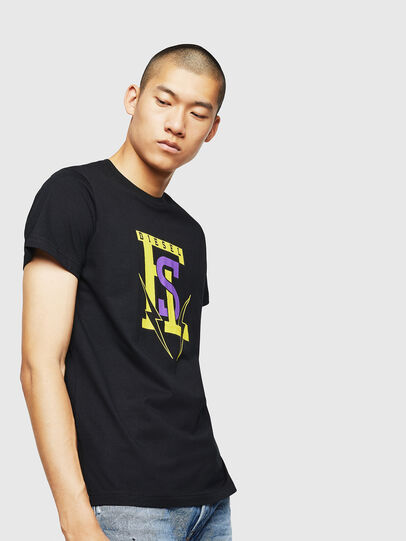 Diesel - T-DIEGO-B3, Black - T-Shirts - Image 1