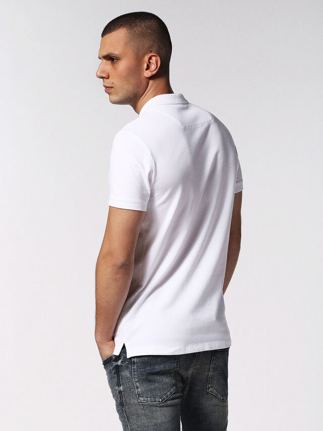 Diesel - T-HEAL, White - Polos - Image 3