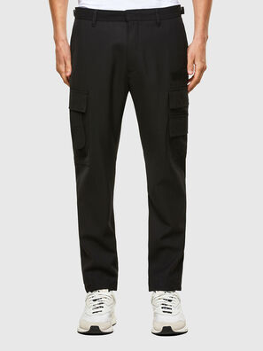 P-HOMEN, Black - Pants
