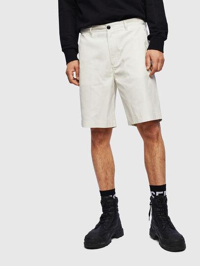 Diesel - P-MATTHEW, White - Shorts - Image 1
