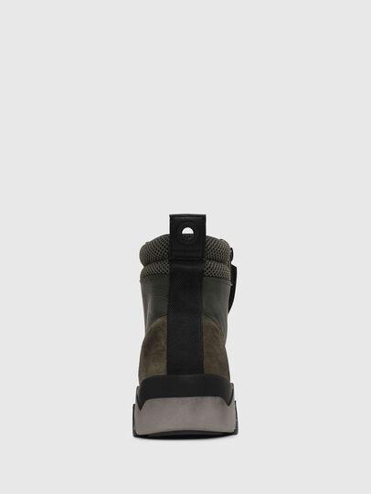 Diesel - S-RUA MID, Dark Green - Sneakers - Image 4