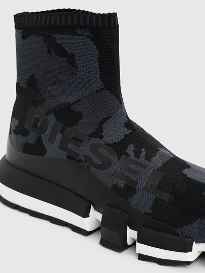 Diesel - H-PADOLA HIGH SOCK, Black - Sneakers - Image 4