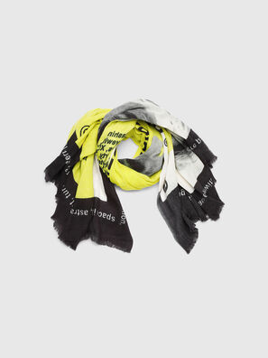 SRIGHT, White/Yellow - Scarf